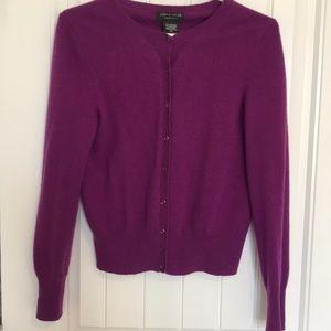Cashmere cardigan sweater Medium